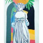 Caryatid postcard