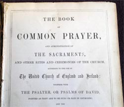 the book of common prayer 1