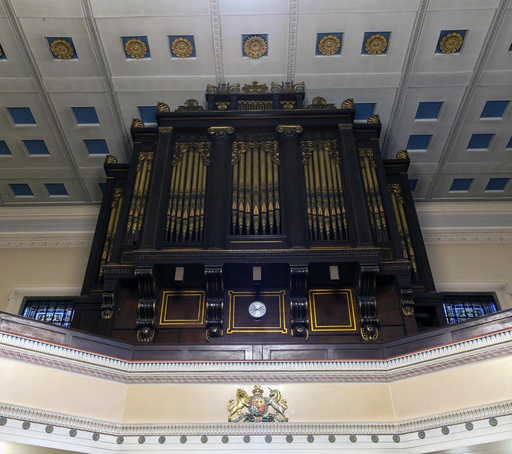 st pancras church organ