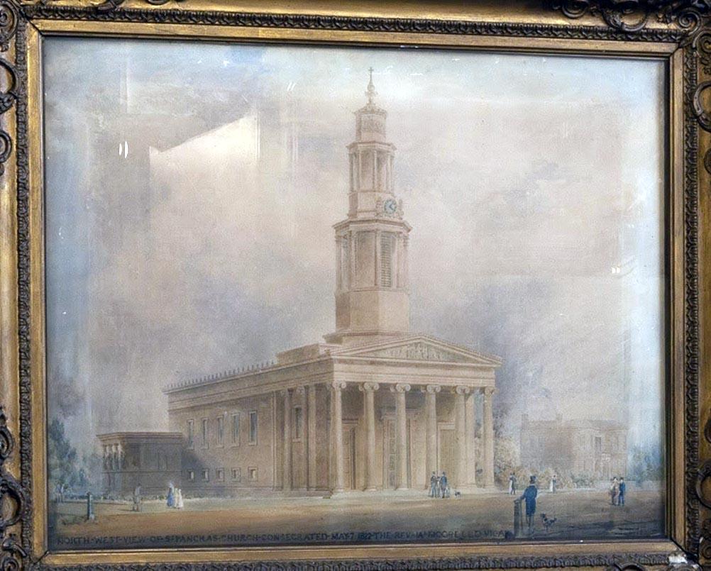 st pancras church painting