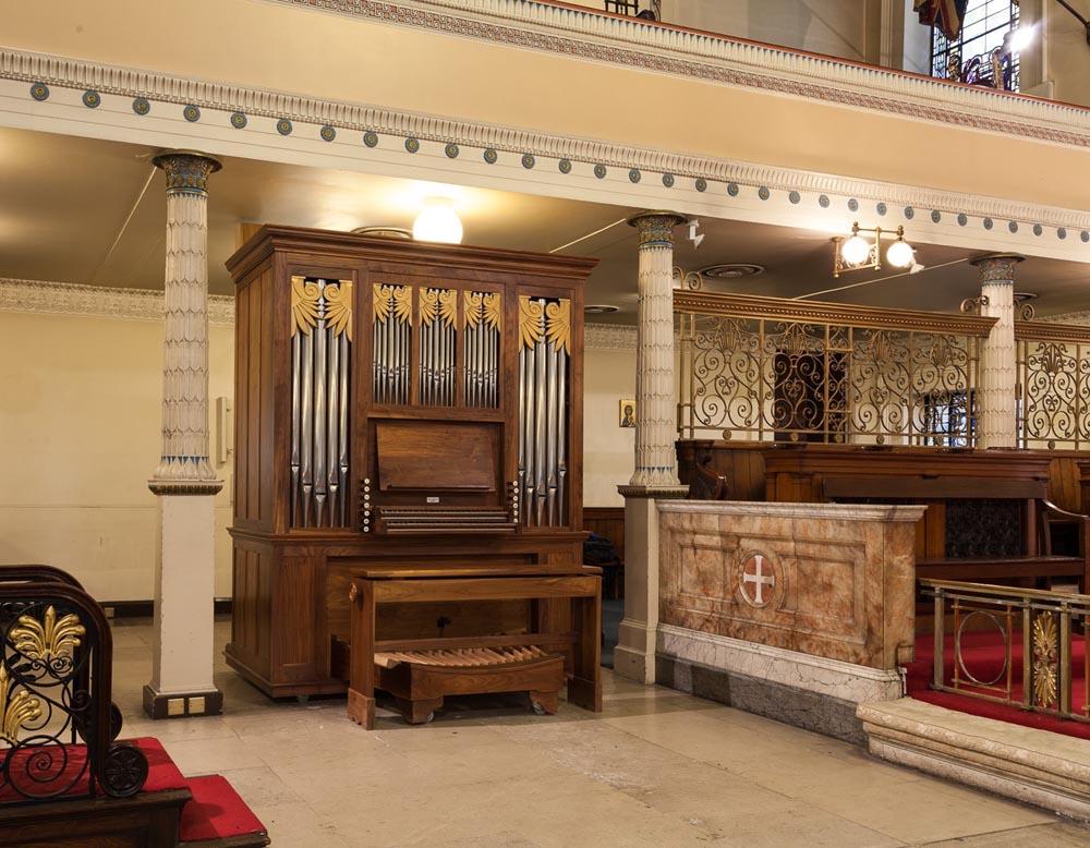 st pancras church peter collins organ